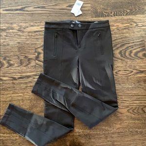Dark brown Vince legging pants